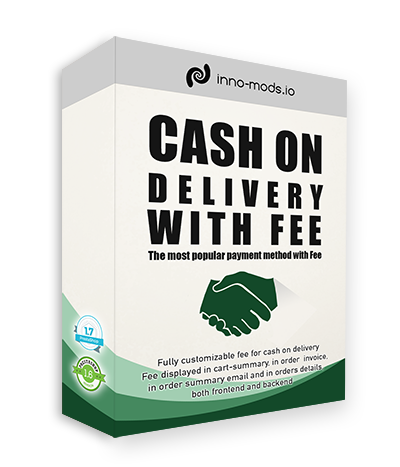 Cash On Delivery With Fee Small